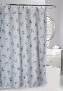 Camomile Slub Fabric Shower Curtain, 71x71""