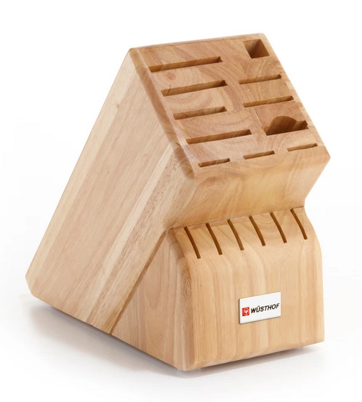 Wusthof 17 Slot Natural Beechwood Knife Block