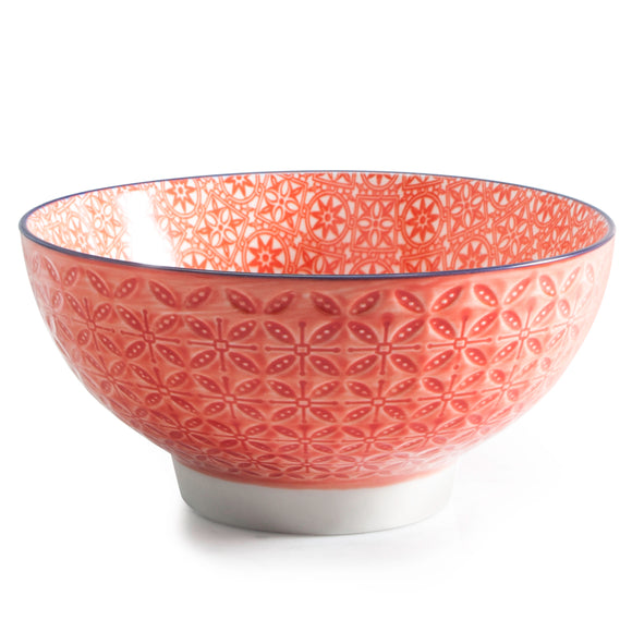 Aster Cereal Bowl, Red 15cm