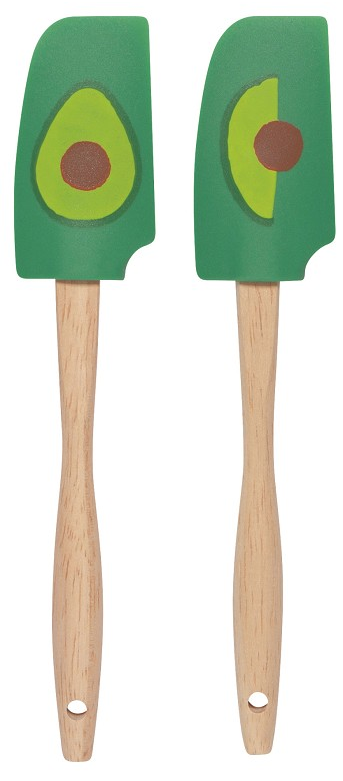 Mini Spatulas Set/2, Avocados