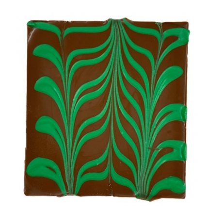 Bark Bar, Mint Chocolate Swirl, 4.5x4