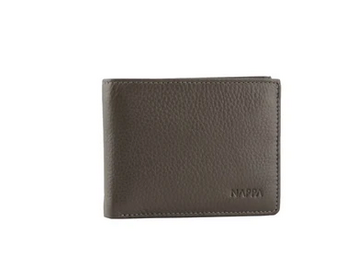 Maxx Leather Men's Wallet, Brown