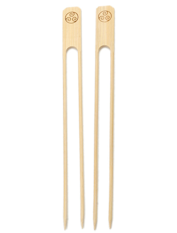 RSVP Bamboo Double Skewer, 25 Count
