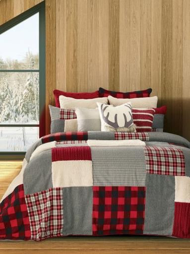 Buck Twin Quilt + 1 Queen Sham