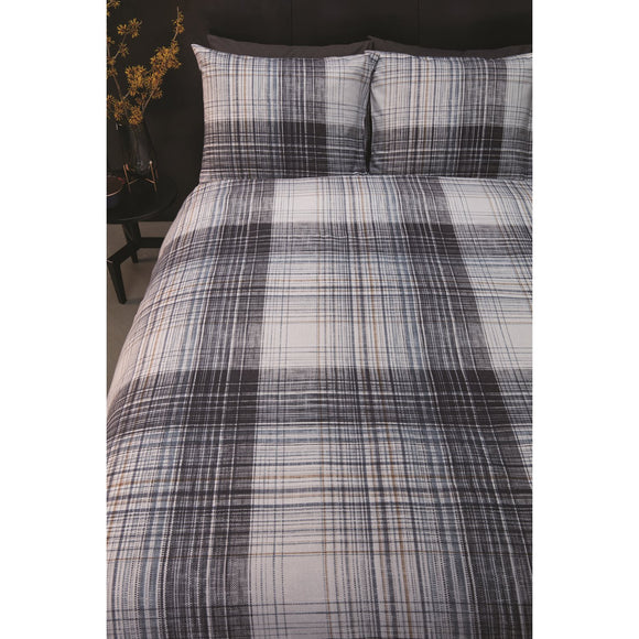 Jimmy Plaid Duvet Cover, Twin