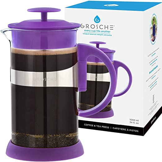 Zurich French Press, 3 Cup Purple