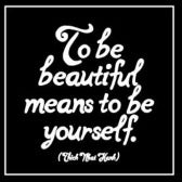 Quotable Magnet - Be Yourself, M298