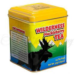 Wilderness Moose Black Tea, Large Tin 24 Teabags