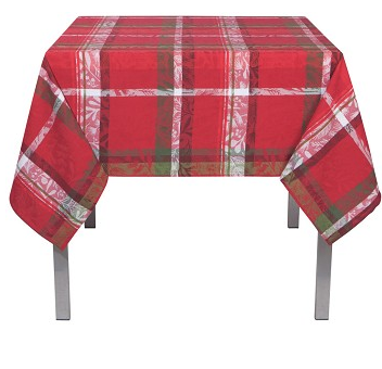 Now Designs Festive Forest Jacquard Tablecloth, 60x90