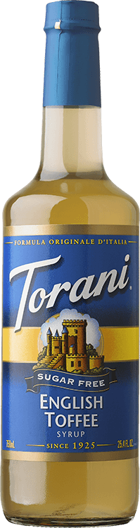 Torani, Sugar Free English Toffee Syrup, 750ml