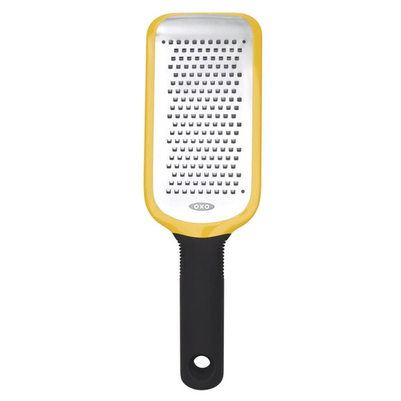 OXO Etched Medium Hand Zester, Yellow 14.5