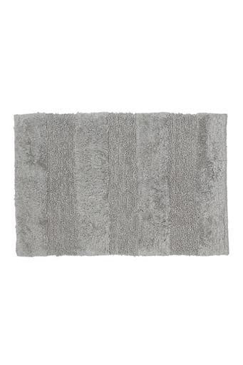 Cloud Cotton Rug/Bath Mat, Grey, 20x32