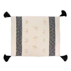 Zahra Throw, Black, 50x60""