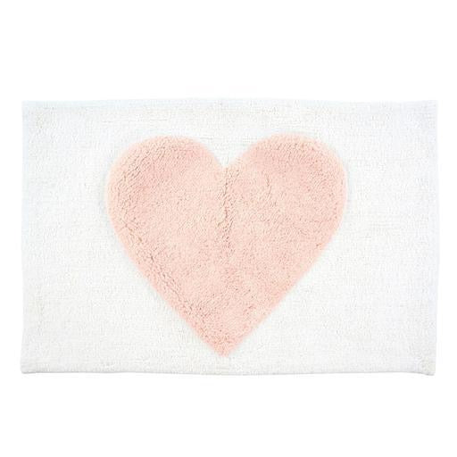 Heart Bath Mat, 20x30
