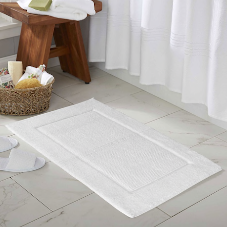 Prima Super Soft Cotton Rug/Bath Mat, Creme, 21x34