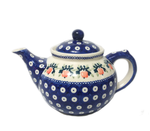 1.25L Afternoon Teapot, Red Apple