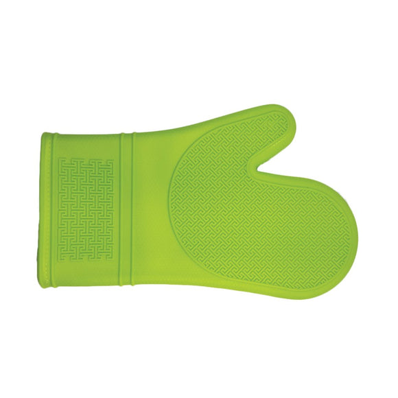 Silicone Oven Mitt, Lime 30cm/12