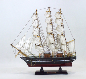 "Cutty Sark Wooden Model Ship, 13"" L"