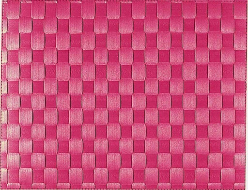 Woven Placemat, Raspberry 30x40cm
