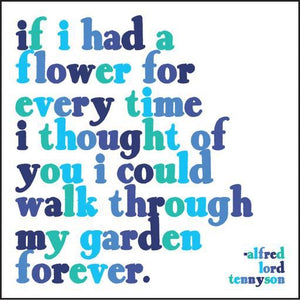 Quotable Magnet - If I Had A Flower, MD262