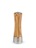 "Madras Olive Wood Pepper Mill, 8""/21cm"