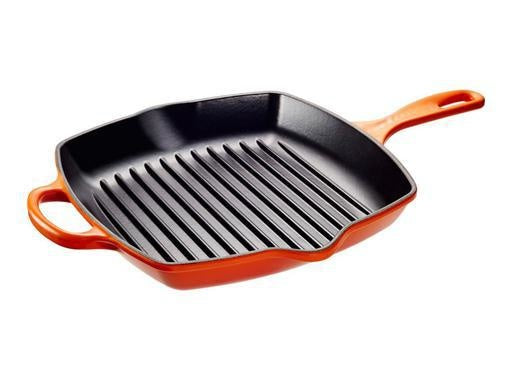 26 cm Square Skillet Grill, Flame
