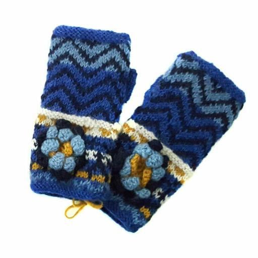 Knitted - Bodhi Mittens (Fingerless)