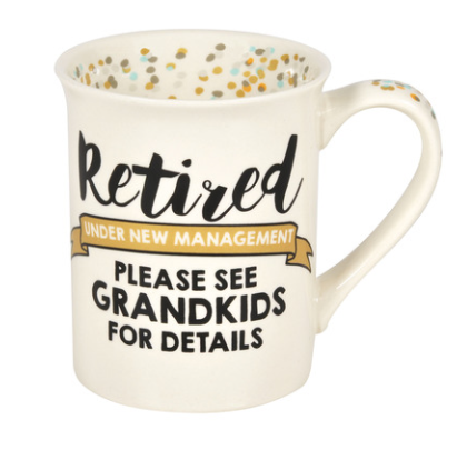 ONIM Mug - Retired/Grandkids Mug 16oz