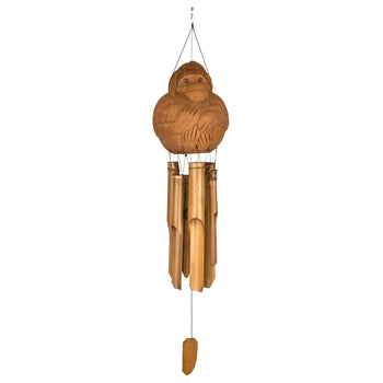 Woodstock Monkey Bamboo Chime