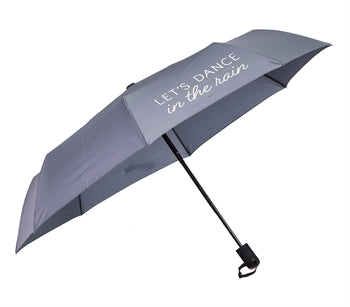 Umbrella, Let's Dance In The Rain, Compact - Grey