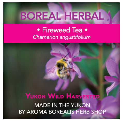 Aroma Borealis Fireweed Herbal Tea