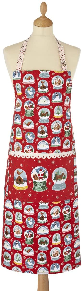 Ulster Weaves UK Cotton Apron, Snow Globes