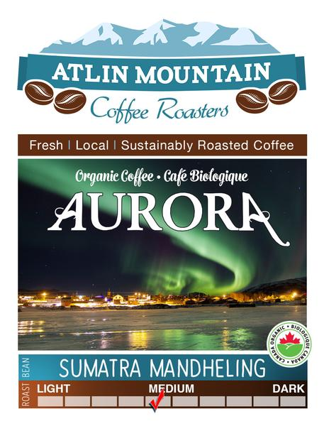 Aurora Organic Coffee Beans - Whole - 400 grams