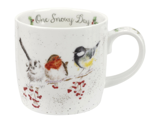 Wrendale Mug: One Snowy Day 11oz