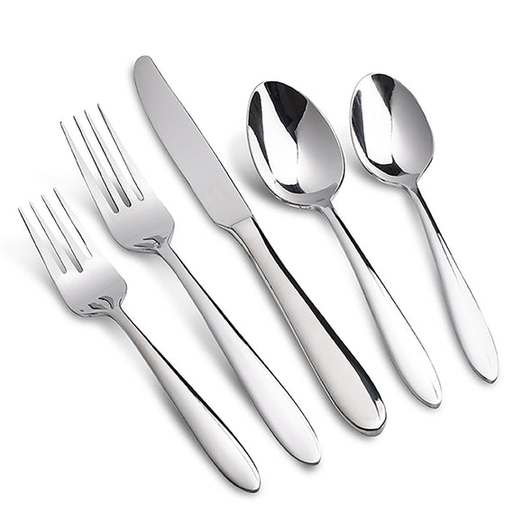 Oneida Mooncrest Utensil Set, 20pc w/Gift Box 18/0 S/S