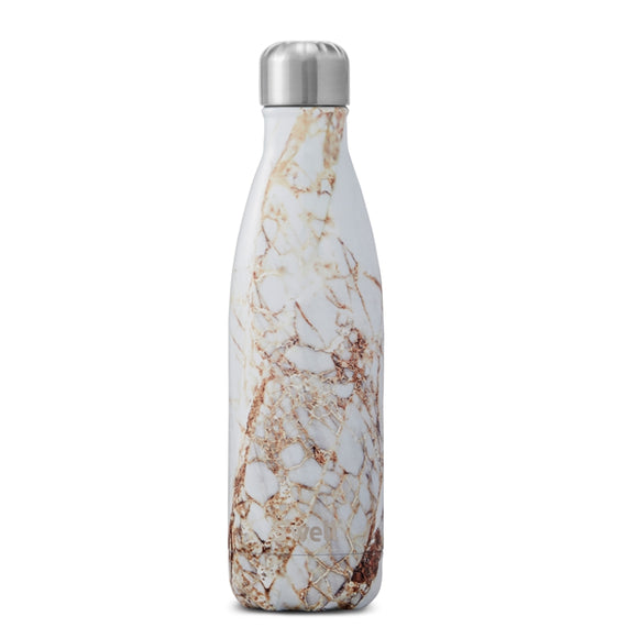 S'Well Bottle, Calacatta 17oz/500ml