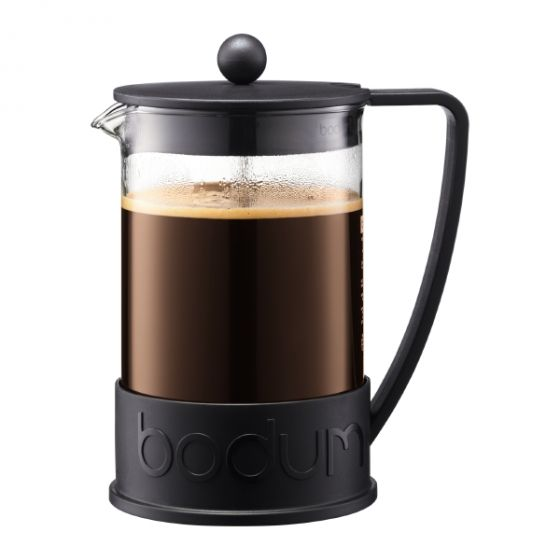 12 Cup Brazil French Press, Black