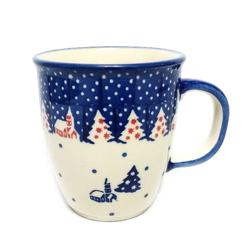 10oz Bistro Mug, Winter Village