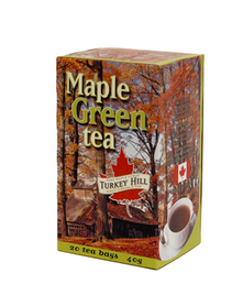 Turkey Hill Maple Green Tea, 20 Teabags