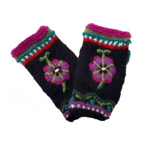 Knitted - Juniper Mittens (Fingerless)