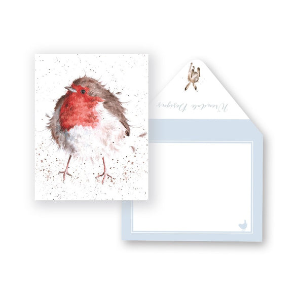 Wrendale Mini-Card, Jolly Robin