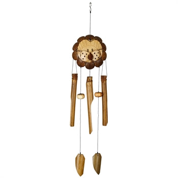 Woodstock Lion Bamboo Chime