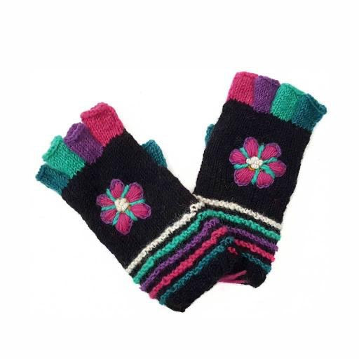 Knitted - North Mittens (Fingerless)
