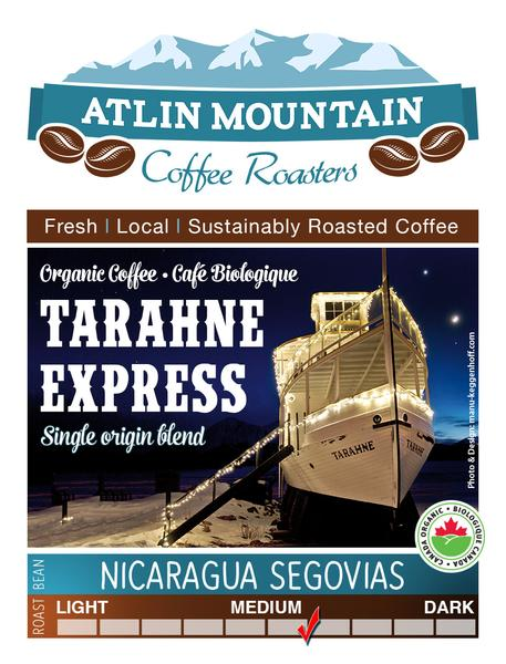 Tarahne Express Organic Coffee Beans - Ground - 400 grams