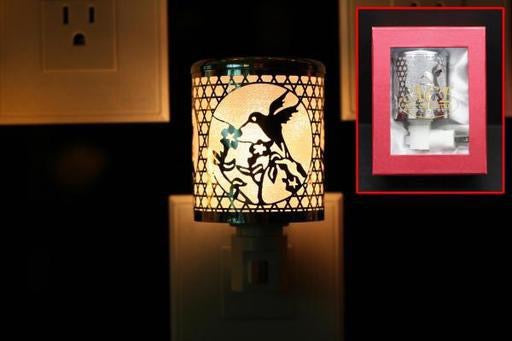 Night Light, Silver Hummingbird