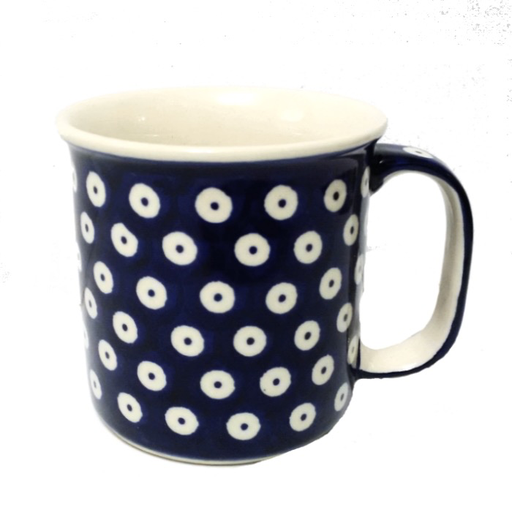 13oz Canadian Mug, Polka Dot