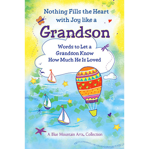 Book, Nothing Fills The Heart With Joy Like A Grandson