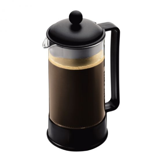 Bodum Brazil Coffee Maker, 8 Cup, 1.0 l, 34 oz, Black