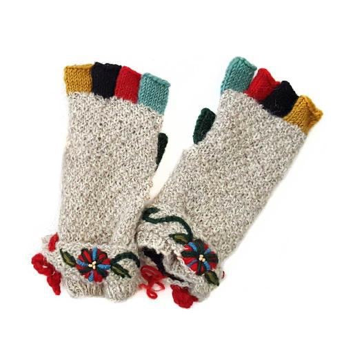 Knitted - Iclyn Mittens (Fingerless)