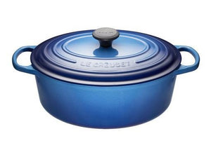 6.3 L Oval French Oven, Blueberry